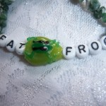 Handcrafted FATFROG (For All Things Fully Rely On God) Bracelet