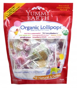 YummyEarth Organic Lollipops