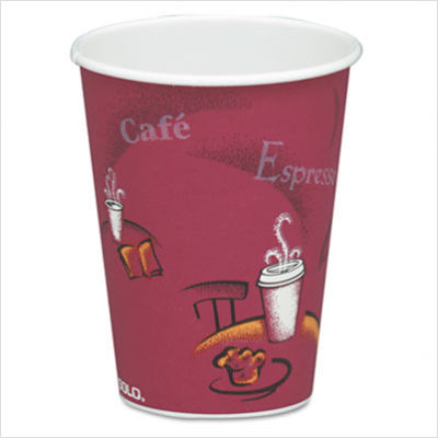 Solo Cups Bistro Design Hot Drink Cups