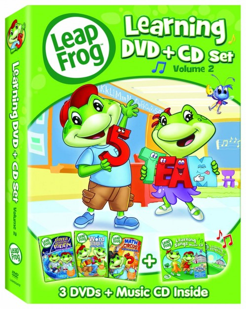 LeapFrog Learning DVD + CD Set, Volume 2