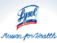 Lysol Mission for Health