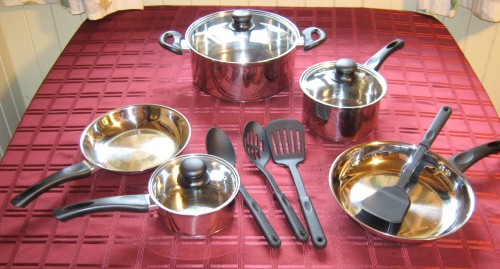 Northland Stainless Steel 12 Piece Cookware Set