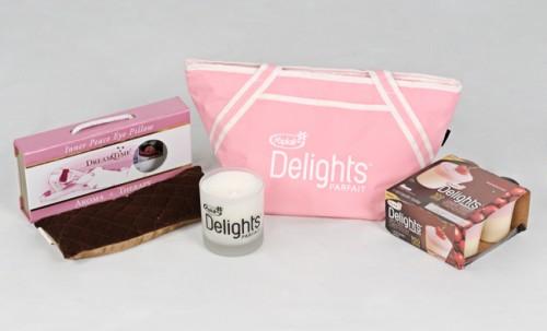"Yoplait Delights ""Indulgent Escape"" gift pack"