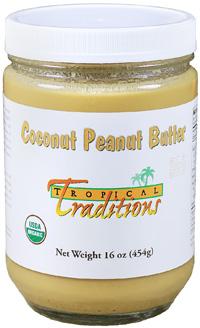 Organic Coconut Peanut Butter