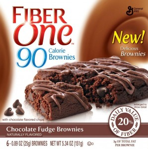 Fiber One 90 Calorie Brownies Chocolate Fudge