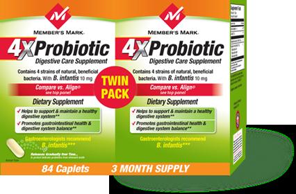 Member's Mark 4X Probiotic