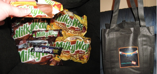Milky Way Halloween Goodies!
