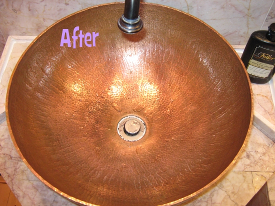 Sink Bowl, After