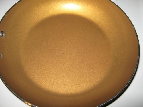 Gold Teflon Skillet