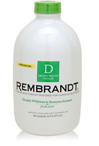 DEEPLY WHITE + Peroxide Whitening Mouthwash