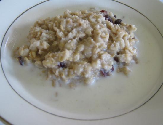 Yummy oatmeal!