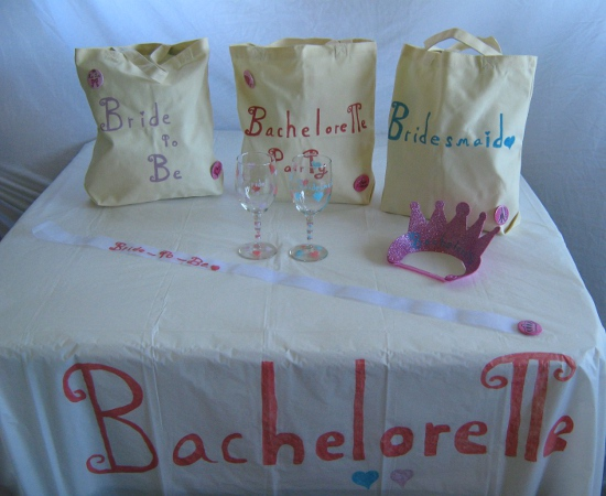 Bachelorette Crafts