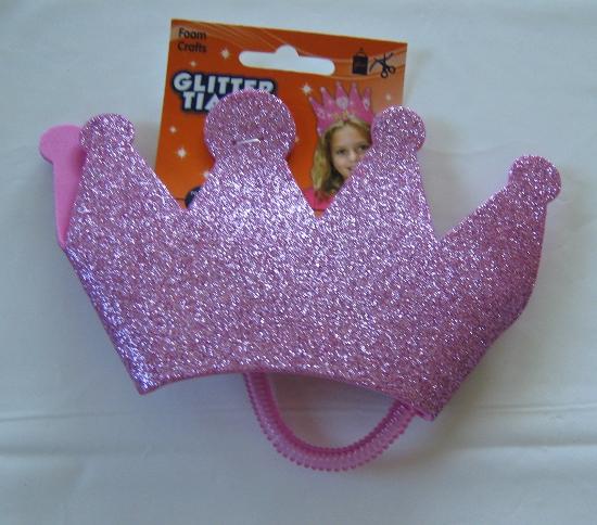Foam tiara
