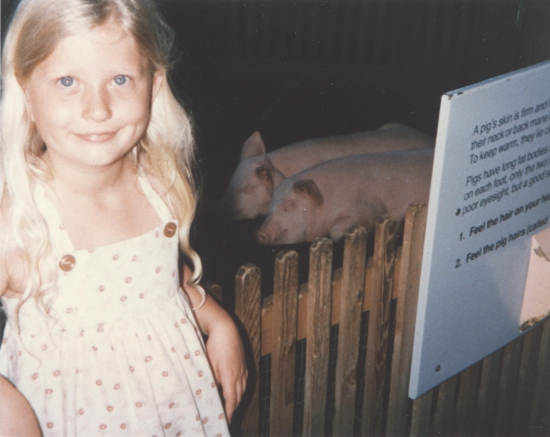 Me at the Oregon Zoo in 1989