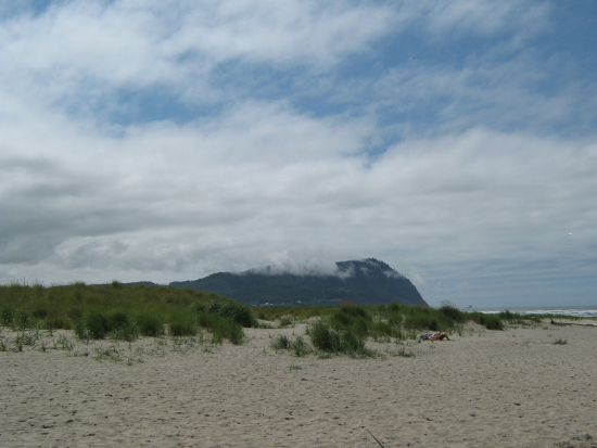 Clouds over Tillamook Head
