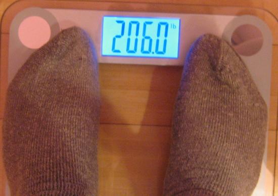 Jai's Weight, Week 3