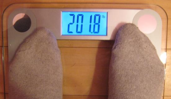 Jai's Weight - Week 4