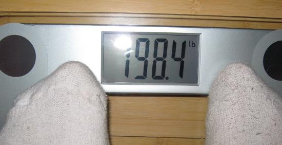 Jai's Weight - Week 6