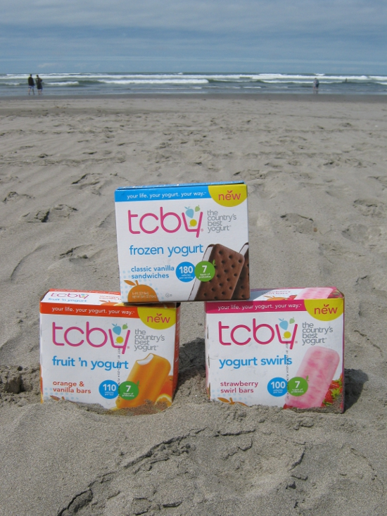 TCBY at the beach!