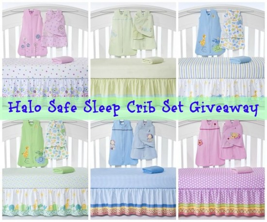 HALO Safe Sleep Crib Set