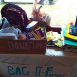 Donations Collected at The Party