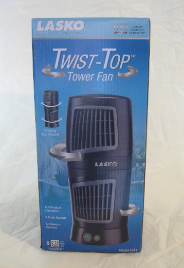Lasko Twist-Top Tower Fan