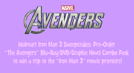 Walmart Iron Man 3 Sweepstakes