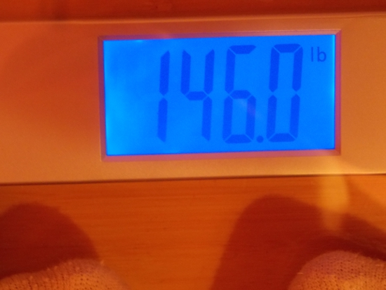 Beeb's Weight - Week 15