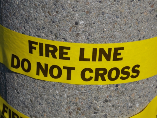 Fire Line - Do Not Cross