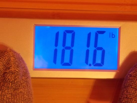Jai's Weight - Week 15