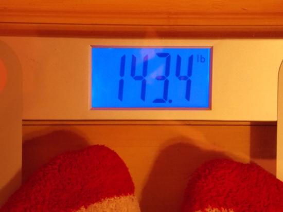 Beeb's Weight - Week 18