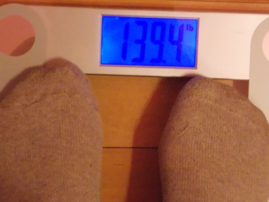 Beeb's Weight - Week 24