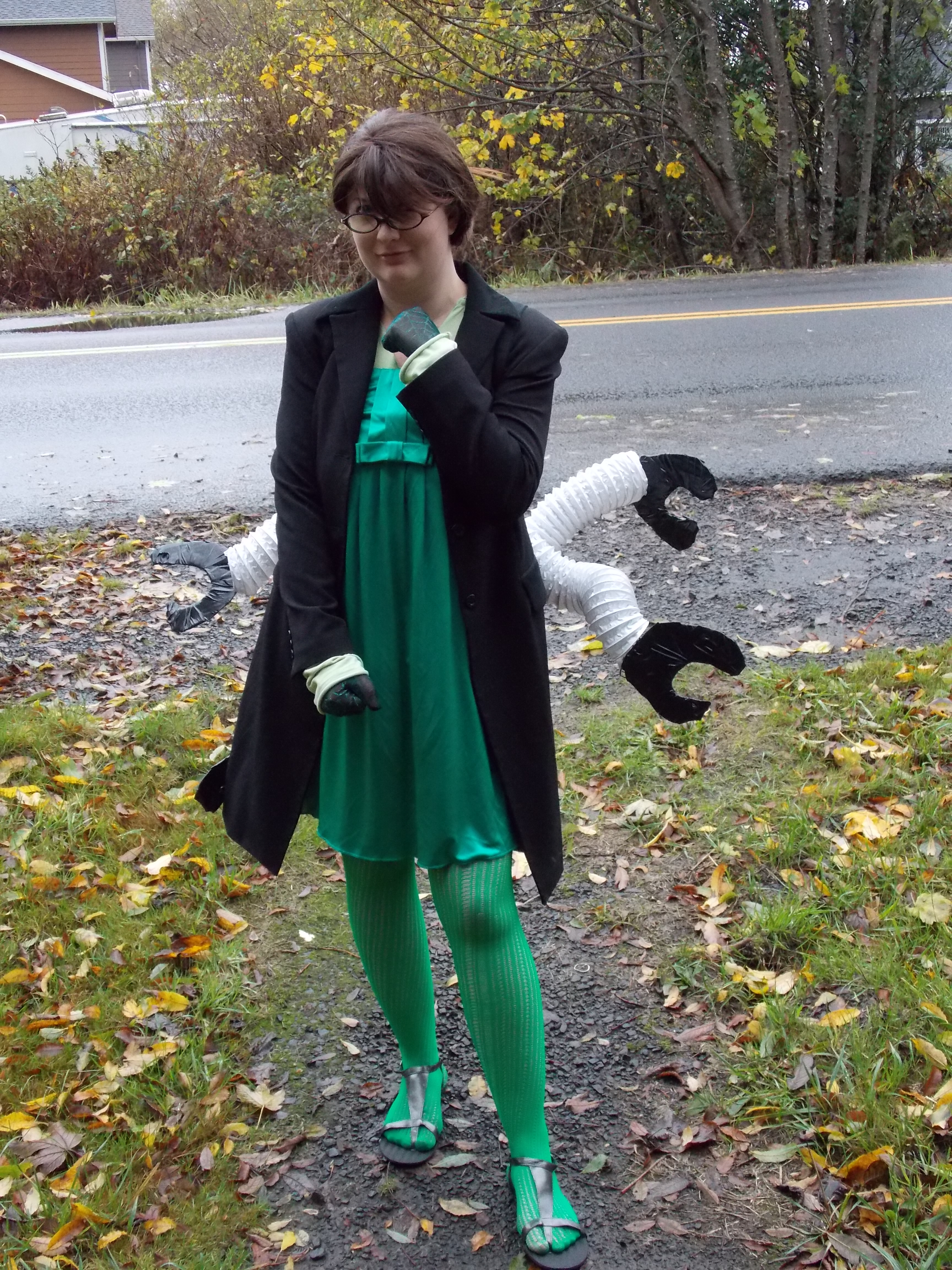 Dr. Octopus Costume & How to Make Your Own Dr. Octopus Costume   Contest Corner: For a ...