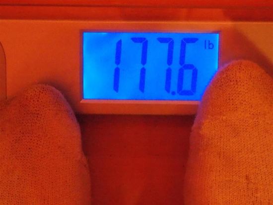 Jai's Weight - Week 23