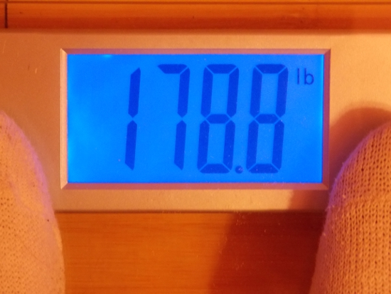 Jai's Weight - Week 24