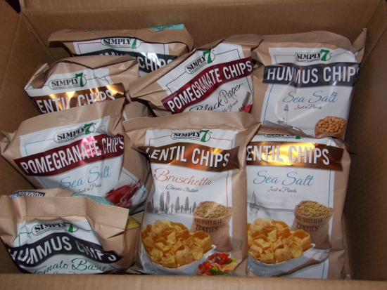 Crate of chips!