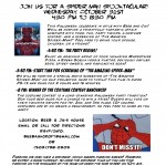 My Spider-Man Party Invitation
