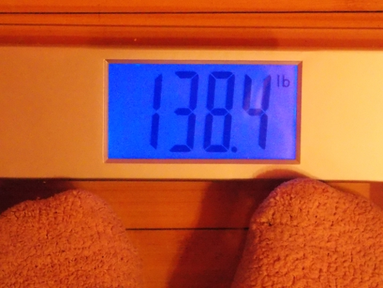 Beeb's Weight - Week 26