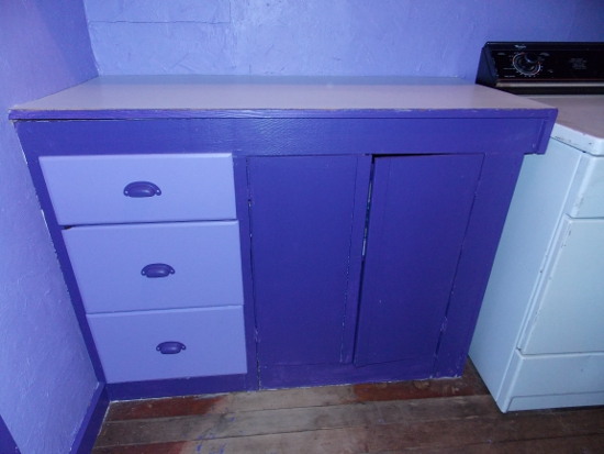 Cabinets & drawers - after