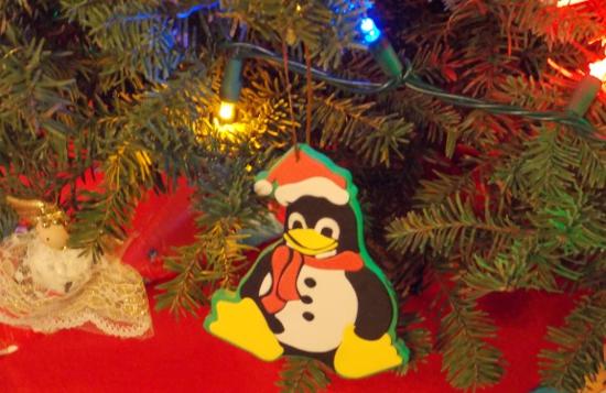 Christmas Tux