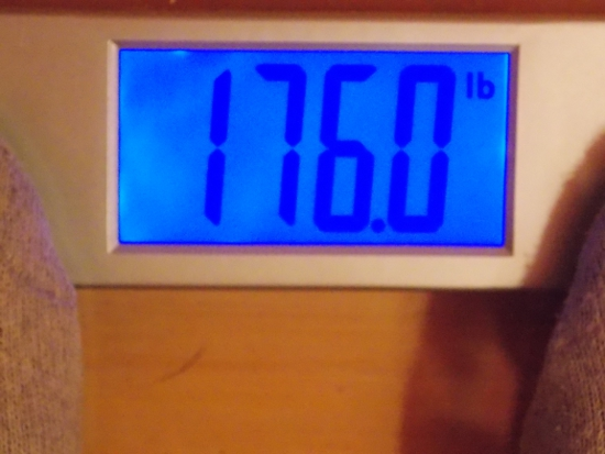 Jai's Weight -  Week 26