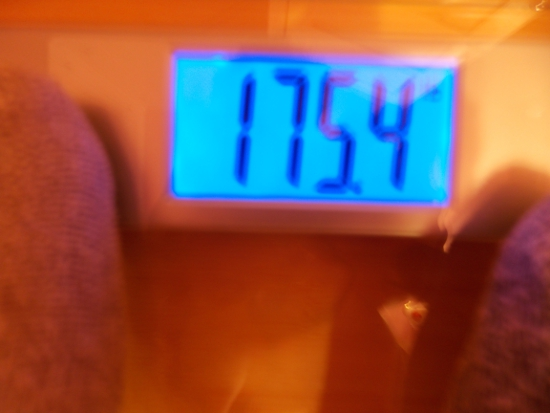 Jai's Weight - Week 27