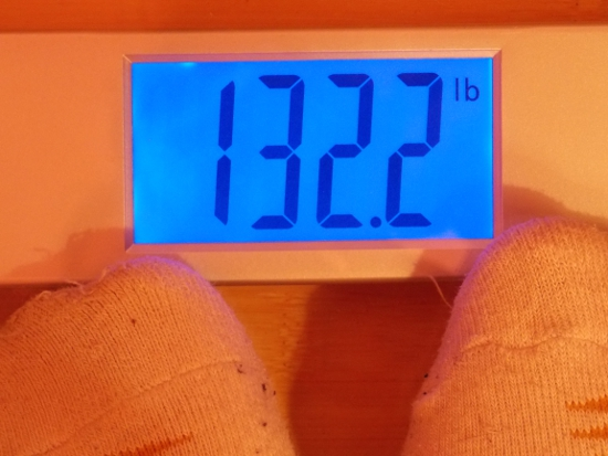 Beeb's Weight - Week 32