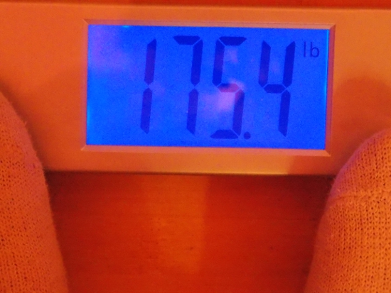 Jai's Weight - Week 32