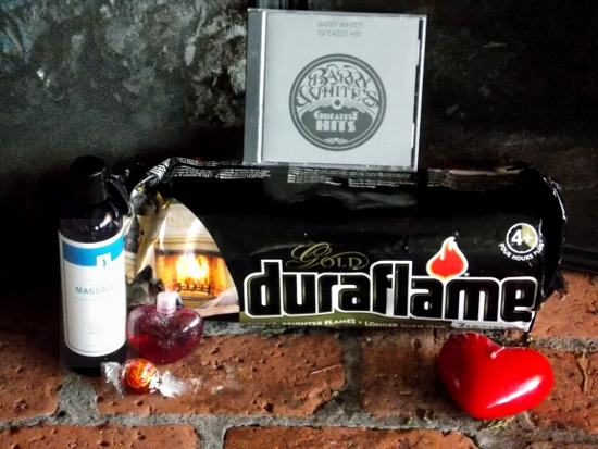 Duraflame Valentine's Day Emergency Kit