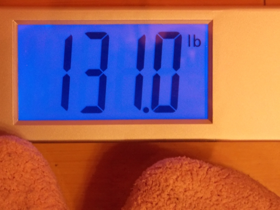 Beeb's Weight - Week 36