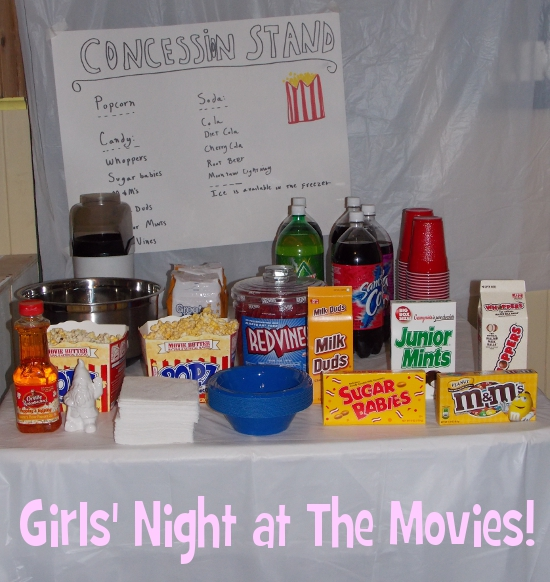 Girls' Night at The Movies!