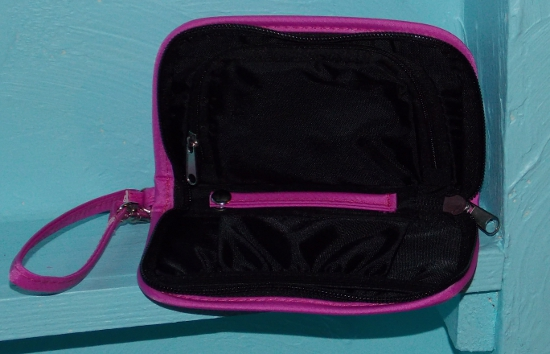Inside view of the On-The-Go Accessory Pouch