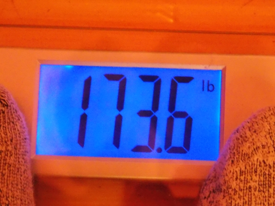 Jai's Weight - Week 36