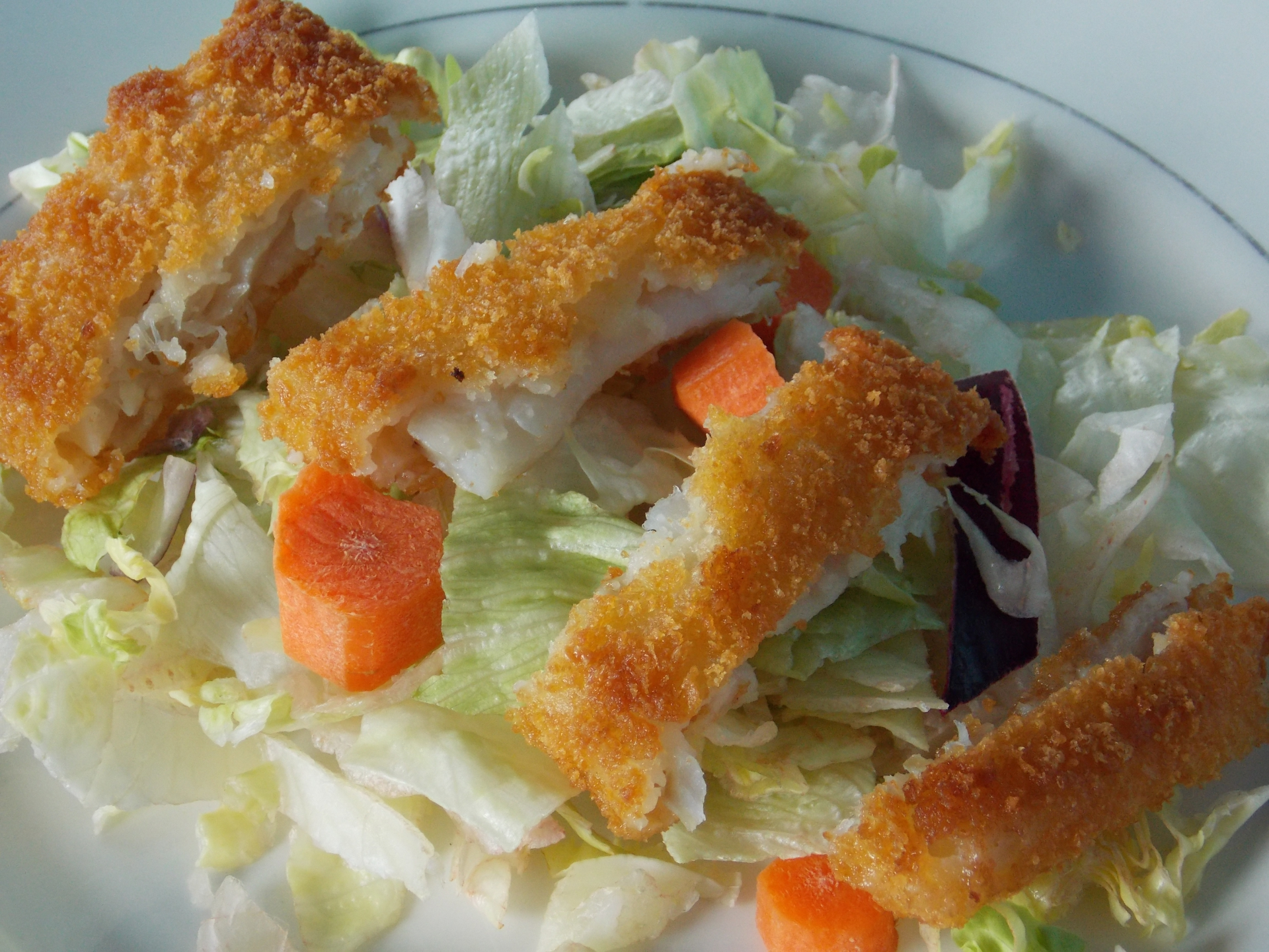 Recipe gorton s fish fillet salad contest corner for a for What to serve with fish fillets
